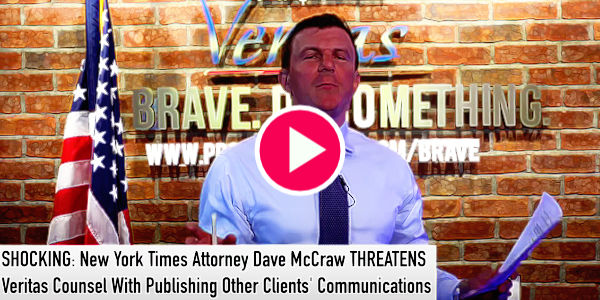 Update on Project Veritas' Defamation Lawsuit Against NYTimes…