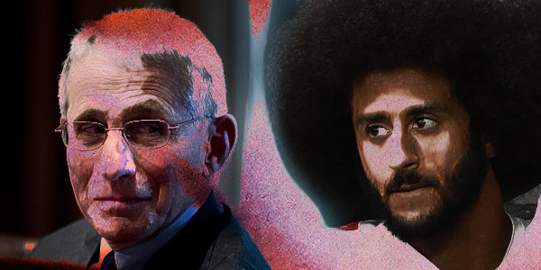 Kaepernick and Fauci are set to receive Robert F. Kennedy Human Rights Award for being 'human rights defenders'…