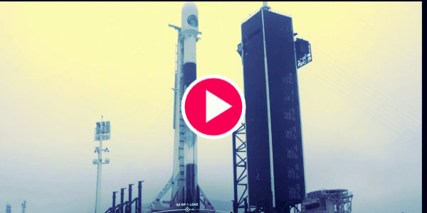 🔴 SpaceX launches the National Reconnaissance Office satellite