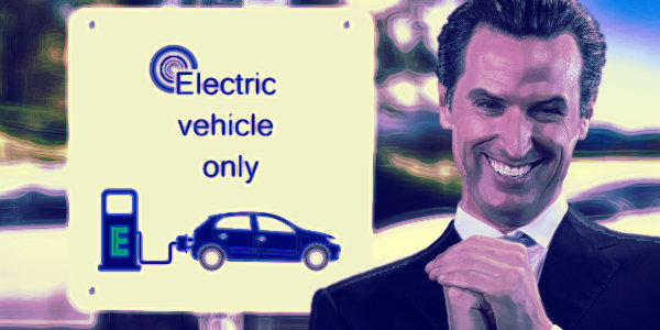 California to ban sale of new gas-fueled cars by 2035…