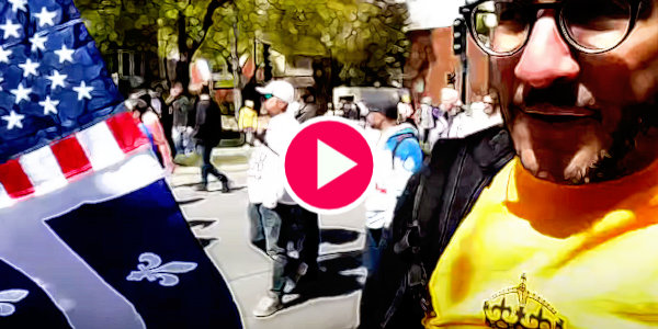 Watch Viva Frei Attends Montreal Lockdown Protests…