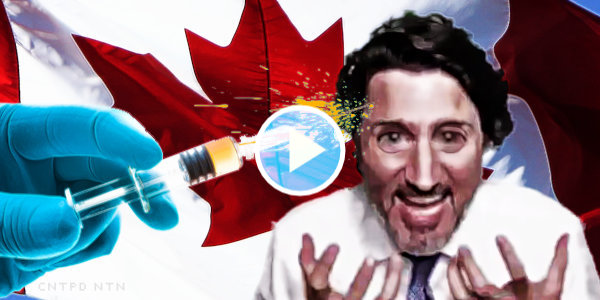 """Trudeau Over-Enthusiastically Tells Canadians To Shame Their """"Crusty Uncle Who Resists"""" The Vaccine…"""