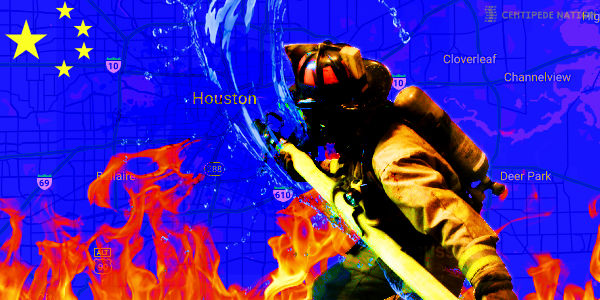 Houston fire and police responding to reports of documents being burned at Consulate General of China…