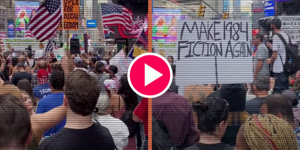 Thousands Take To The Streets In NYC's 'Freedom Rally' To Protest Draconian Vaccine Mandates…
