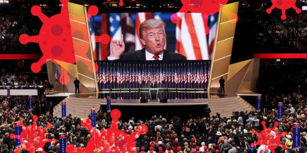 Trump cancels parts of GOP convention set for Jacksonville, Florida, citing coronavirus…