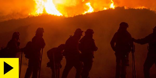 Videos: California Skies Blackened as Wildfires Burn Across The West Coast…