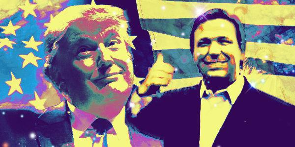 Trump says Desantis could be his 2024 running mate…