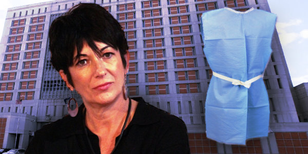 Federal officials have taken precautions over concern that Ghislaine Maxwell might take her own life: she's forced to wear paper attire while in custody…